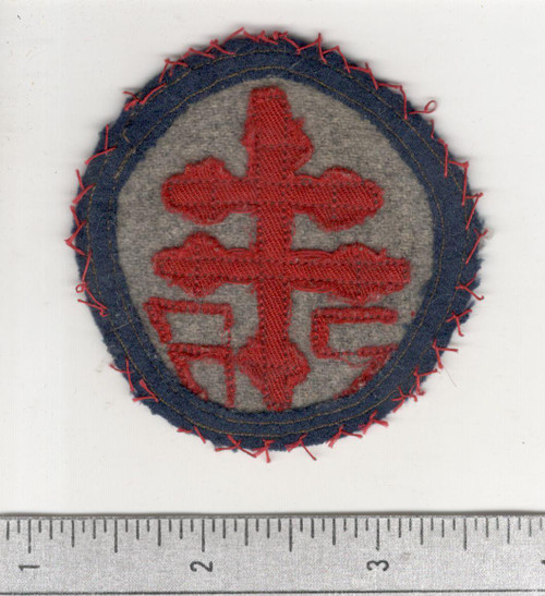 WW 1 US Army Advanced Section Services Of Supply Quartermaster Patch Inv# W638