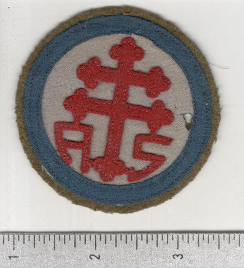 WW 1 US Army Advanced Section Services Of Supply Quartermaster Patch Inv# W641