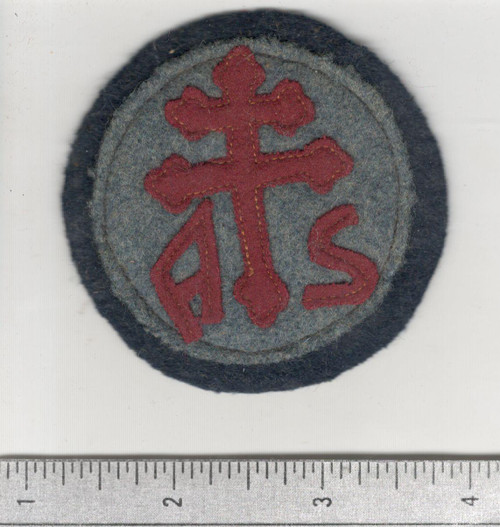 WW 1 US Army Advanced Section Services Of Supply Quartermaster Patch Inv# W645