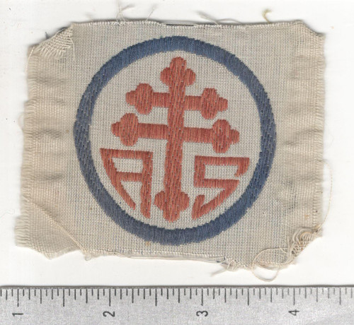 WW 1 US Army Advanced Section Services Of Supply Quartermaster Patch Inv# W646