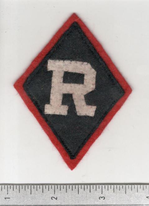 WW 1 US Army Railheads Regulating Stations Patch Inv# W655