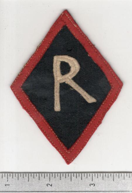 WW 1 US Army Railheads Regulating Stations Patch Inv# W658