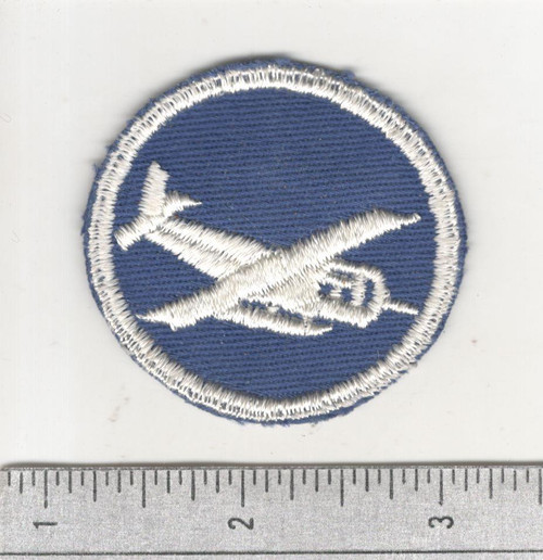 WW 2 US Army Glider Airborne Overseas Officers Cap Patch Inv# W723