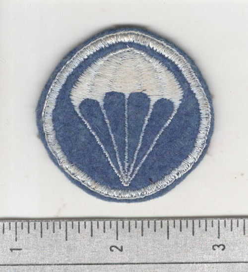 WW 2 US Army Paratroops Infantry Overseas Wool Cap Patch Inv# W724
