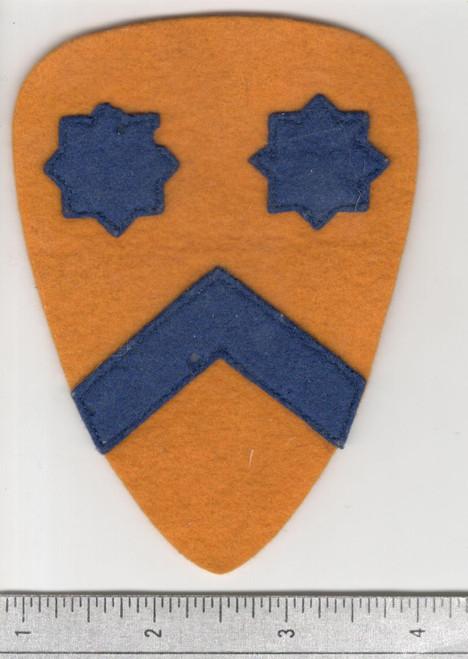 Pre WW 2 US Army 2nd Cavalry Layered Wool Patch Inv# W747