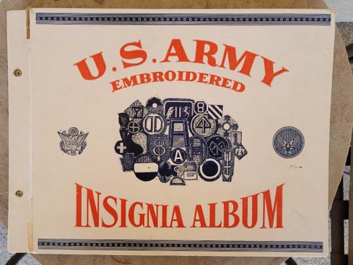 US Insignia Album 163 Original Patches