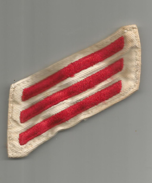 US Navy E-3 Fireman Rate Patch Inv# W253