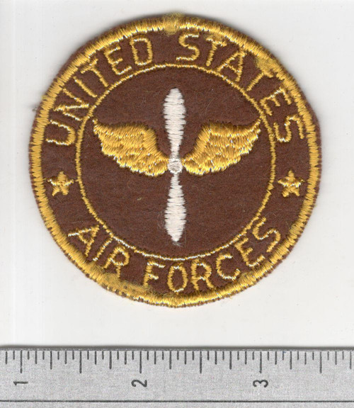 """WW 2 US Army Air Force 2-3/4"""" Sweetheart Patch Inv# S420"""