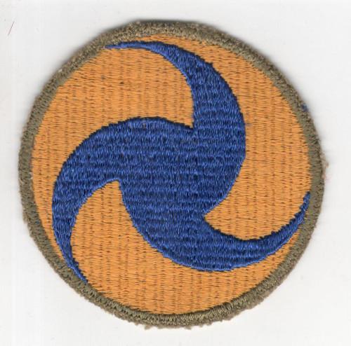 Gemsco WW 2 US Army Air Forces General Headquarters OD Border Patch Inv# R778