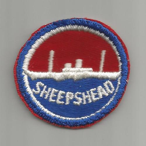 """WW 2 US Navy Sheepshead Bay 2-1/4"""" Patch Inv# W357"""