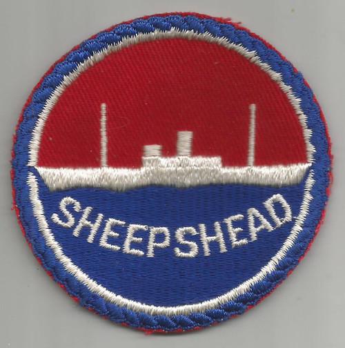 """WW 2 US Navy Sheepshead Bay 3"""" Patch Inv# W359"""