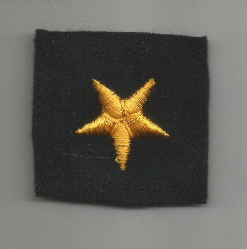 WW 2 US Navy Line Officer Cuff Star Inv# W399