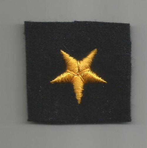 WW 2 US Navy Line Officer Cuff Star Inv# W401