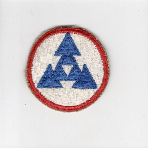 US Army 3rd Logistical Command Patch Inv# H302