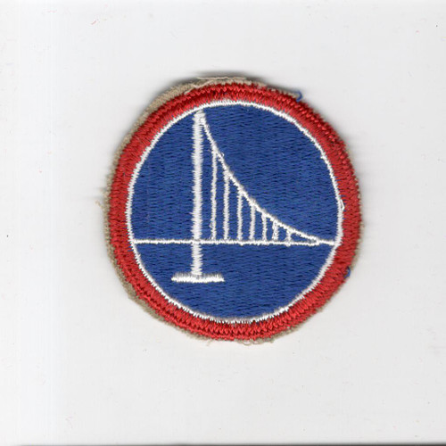 Cut Edge No Glow US Army 305th Logistical Command Patch Inv# H319