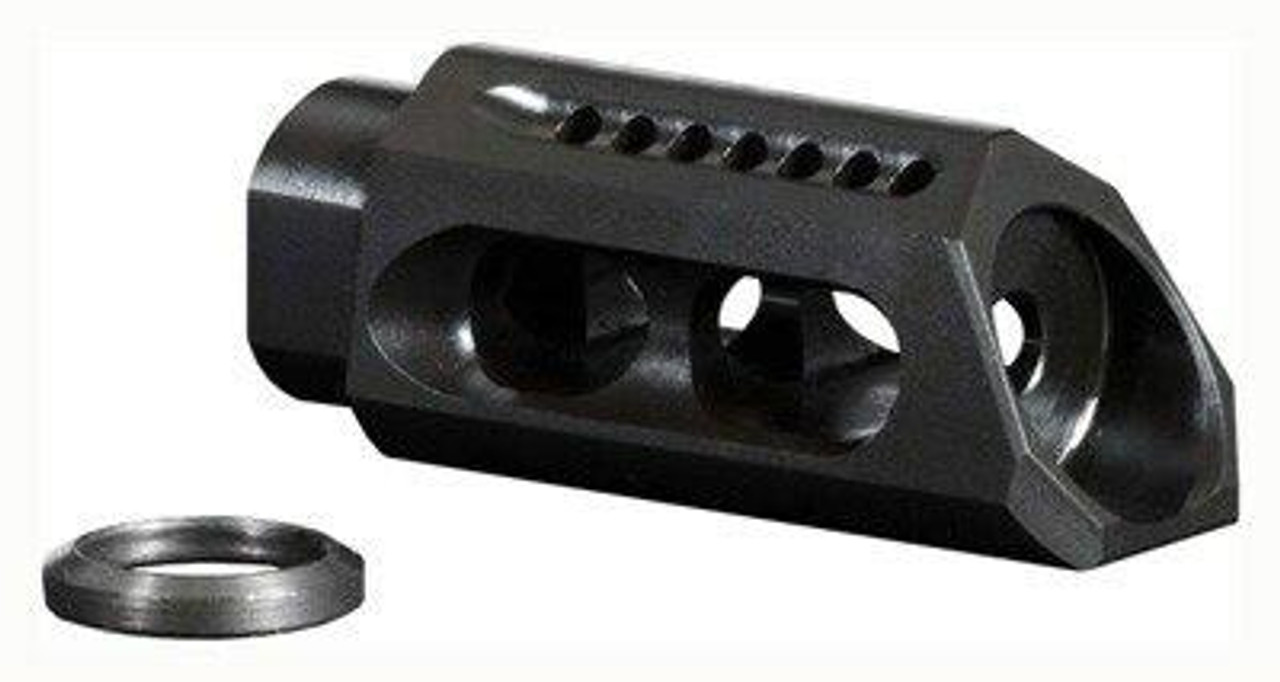 Yankee Hill Machine Yhm Slant Muzzle Brake/comp - .308 5/8x24 Threads