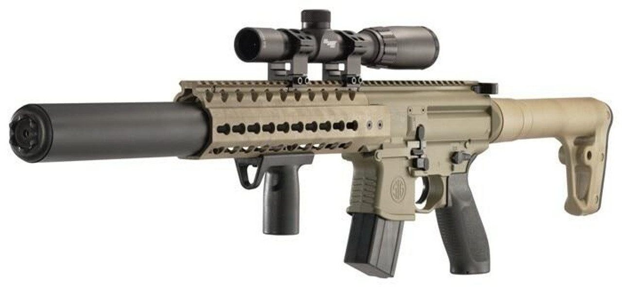 SIG Sig Air-mcx-scope-177-88g-30- - Fde .177 Co2 30rd Fde W/1-4x24