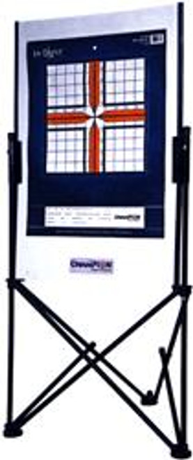 Champion Champion Paper Target Holder - Stand W/carrying Case Black