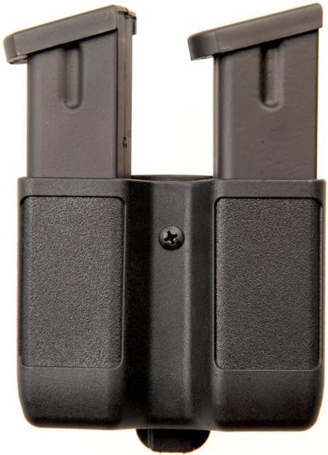 Blackhawk Blackhawk Double Mag Case - Double Stack 9/40/45/ Blk