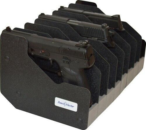 Altus Brands Benchmaster Weapon Rack Eight - Gun Pistol Rack