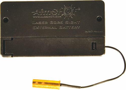 AimShot Aimshot Bore Sight .22lr W/-External Battery Box Red