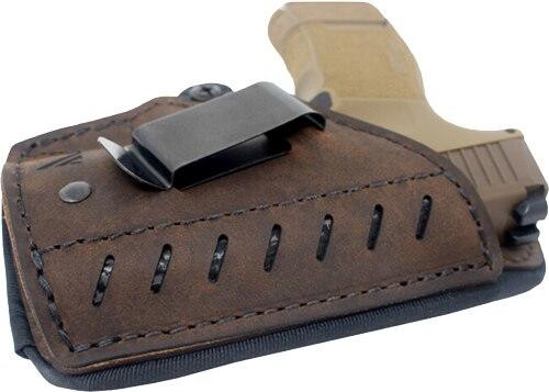 Versacarry Vc Comfort Holster Iwb Kydex - Leather Rh Sub Comp Sz 3 Brn