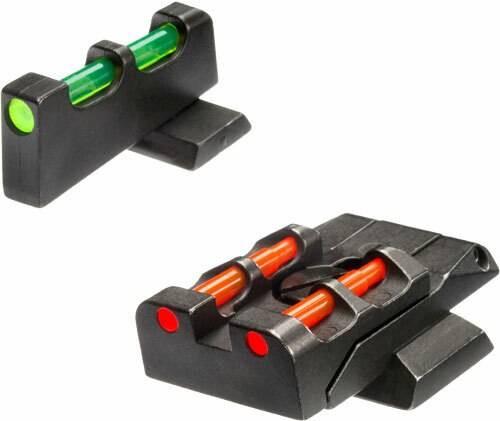 Hiviz Hiviz Interchangeable Set Mandp - and Pro 9/40/45 Grn/red/whte/blk