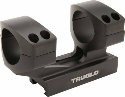 Truglo Truglo 1-piece Picatinny Riser - Scope Mount 1height 30mm Rngs