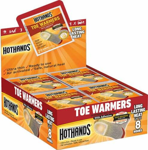 HotHands Hothands Toe Warmers 40 Pair - 8 Hour W/ Adhesive