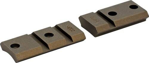 Warne Scope Mounts Warne Base Maxima 2pc Rem 700 - Burnt Bronze