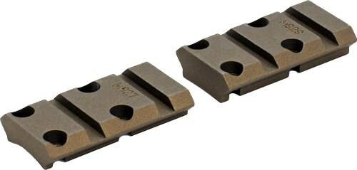 Warne Scope Mounts Warne Base Maxima 2pc Browning - X-bolt Burnt Bronze