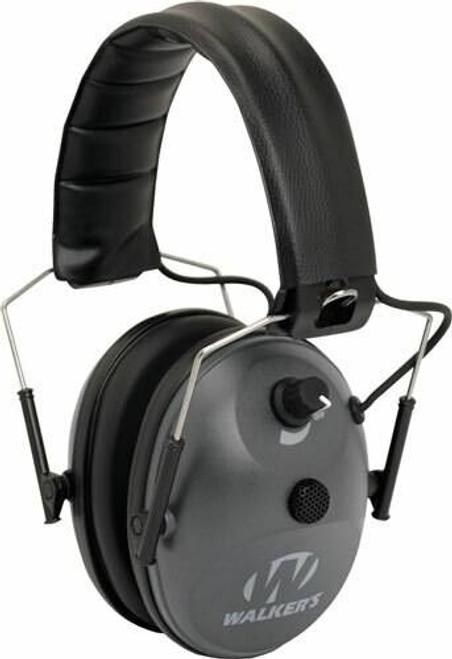 Walkers Walkers Muff Electronic 1-mic - 4x Enhancement 22db Grey