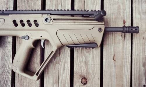 AB Arms Ab Arms T Rail Picatinny Rail - Section For Iwi Tavor Black