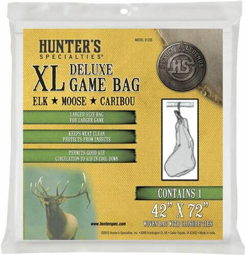 Hunters Specialties Hs Field Dressing Game Bag - Xl Deluxe 42x72