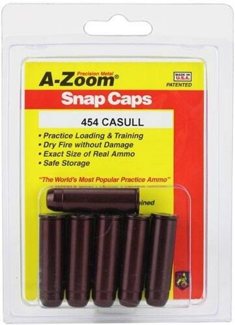 A-ZOOM A-zoom Metal Snap Cap - .454 Casull 6-pack