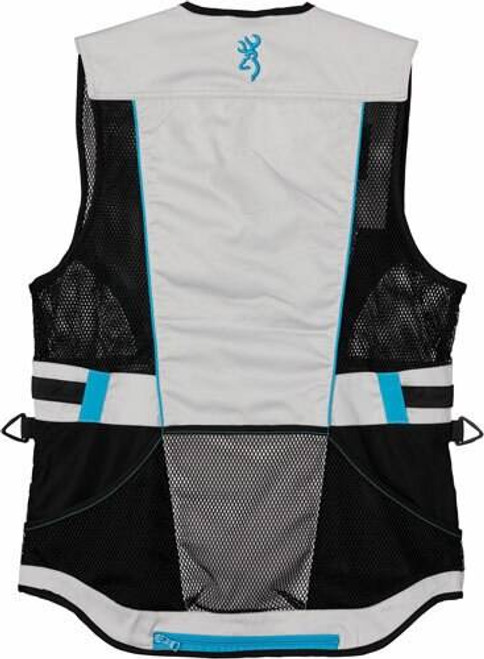 Browning Bg Ace Shooting Vest Womens - Small Teal For Her
