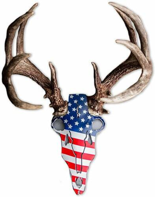 Do All Traps Do-all Horn Mounting Kit - American Iron Buck Red/wht/blu