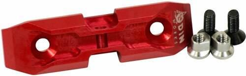 Odin Works Odin Bipod Adapter Keymod - Low Profile Red