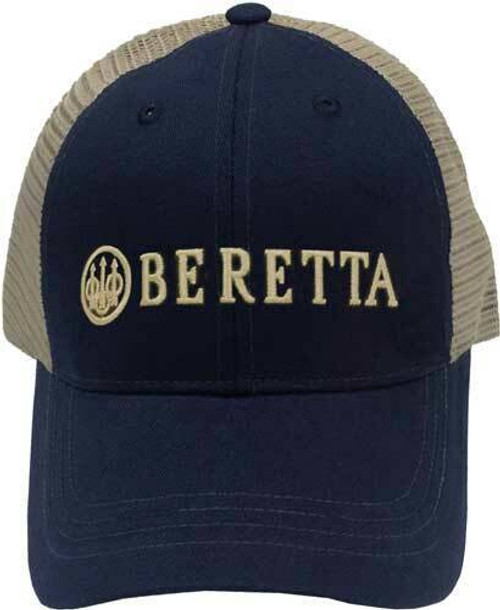 Beretta Beretta Cap Trucker Lprofile - Cotton Mesh Back Navy Blue