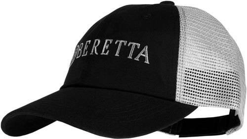Beretta Beretta Cap Trucker Lprofile - Cotton Mesh Back Black