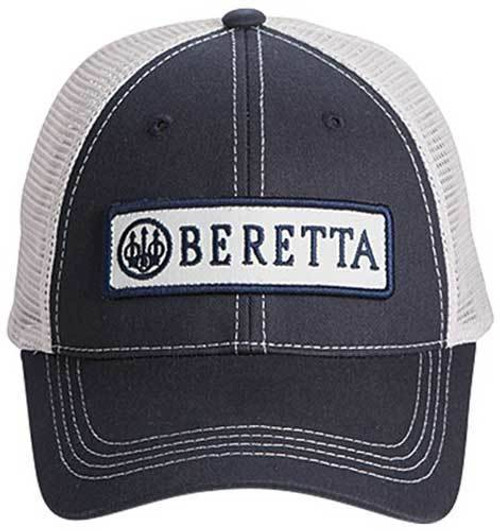 Beretta Beretta Cap Trucker W/patch - Cotton Mesh Back Navy Blue