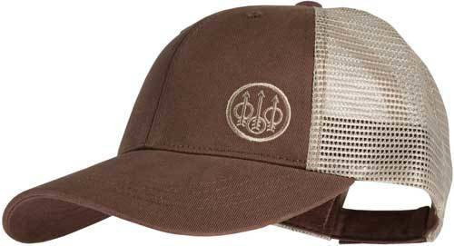 Beretta Beretta Cap Trucker W/offset - Logo Cotton Mesh Back Od Green