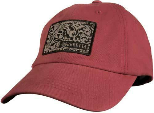 Beretta Beretta Cap Engraved Logo - Crimson Red