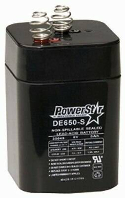 American Hunter American Hunter Battery - Rechargeable 6v 5amp Springtop