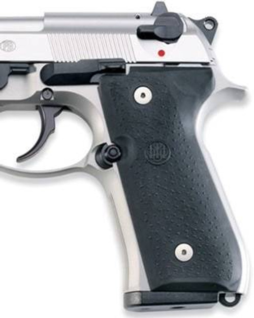 Beretta Beretta 92/96 Grip Panels - Rubber Black