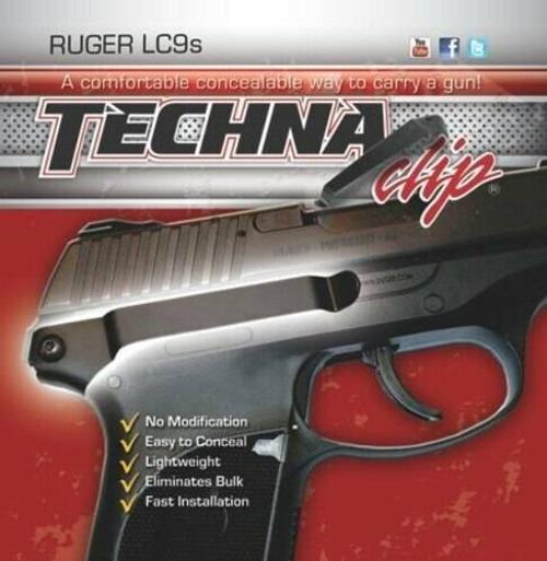 Techna Clips Techna Clip Handgun Retention - Clip Ruger Lc9s Right Side