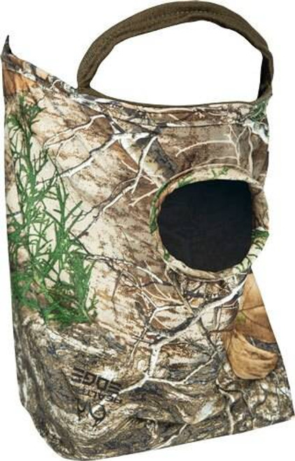 Primos Primos 1/2 Face Mask Stretch - Fit Realtree Edge