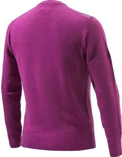 Beretta Special Purchase Beretta Mens Classic Round - Neck Sweater Large Violetless