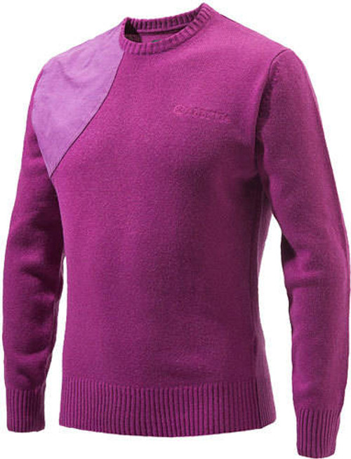 Beretta Special Purchase Beretta Mens Classic Round - Neck Sweater X-large Violetless