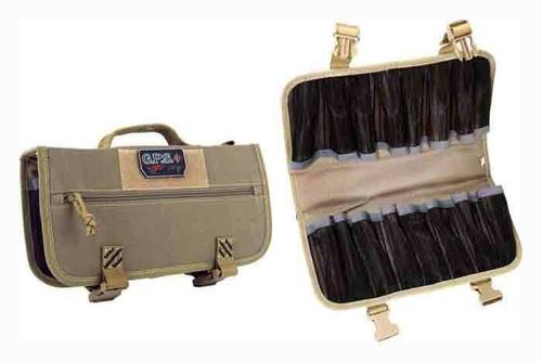 GPS Gps Magazine Storage Case - Holds 16-pistol Mags Tan